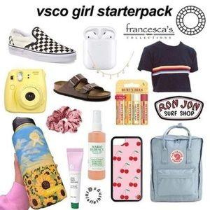VSCO Girl Starter Pack